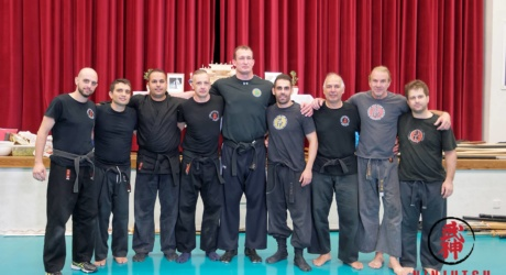 Seminar with Shihan Darren Hovarth from Japan 2015