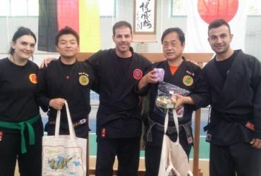 Σεμινάριο Yushu shihan Kogi Furuta και Shihan Shoshi Nakagawa