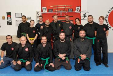 Paphos Dojo Training
