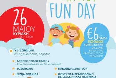 """Family Fun """"Ninja"""" Day"""
