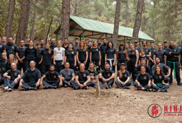 Η αυτοσυναίσθηση, αυτοσκοπός στο Jiko Ninshiki Ninja Camp του Pegasus Club